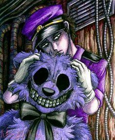 Purple / FNaF by Mizuki-T-A.deviantart.com on @DeviantArt