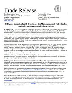 New Osha Report The Costs Of Not Protecting Our Workforce