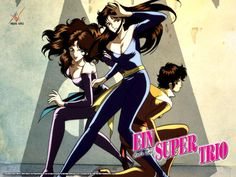Cat's eye. Ein super Trio.  Amazing Anime Serie
