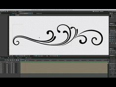 Create Animated Flourishes in After Effects - YouTube