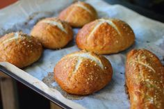 Pretzel Buns for burger, sliders, and hot dogs.