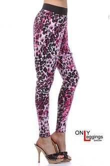 Relaxed Fit Luscious Leopard Leggings
