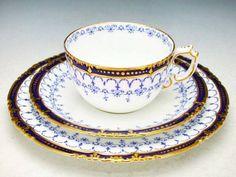 Royal Crown Derby - 1900 ~ Teacups Saucers