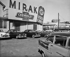 Vintage Cars Mirak Chevrolet OK Used Cars - Boston - Classic Chevy Trucks, Classic Cars, Chevy Dealerships, Harley Davidson, Chevrolet Dealership, New Car Smell, Pompe A Essence, Vintage Trucks, Cars