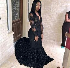 Source by dresses black girls slay 2018 Prom Dresses Slay, Black Girl Prom Dresses, Pretty Prom Dresses, Prom Dresses Long With Sleeves, Prom Outfits, Girls Dresses, Prom Goals, Prom Couples, Vestidos