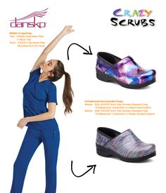 Today's Outfit of the Day features Dansko Footwear! #scrubs #medicalapparel #OOTD #fashion