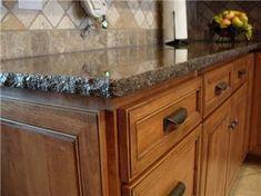 Consider Granite - 3 cm chiseled countertop