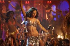 'Lovely' stills: Deepika Padukone looks scintillating as she performs an aerial act in the new song from 'Happy New Year'