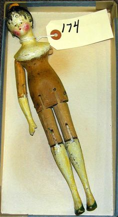Little Wooden doll