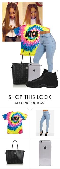 """Untitled #315"" by jahdaaliyah ❤ liked on Polyvore featuring MCM and NIKE"