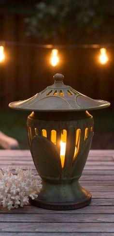 The Journey Lantern   Ephraim Pottery