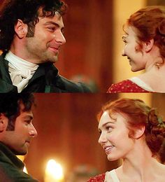 Happier times for Demelza Poldark. Season 2 - 2016