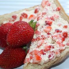 "Strawberry Butter       Prep  10 m  Ready In  10 m  Recipe By:Jennifer K  ""This goes great with pancakes or French toast!""  Ingredients  1/2..."