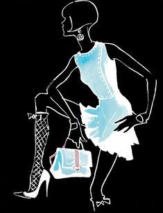 Fashion Illustration & Textiles