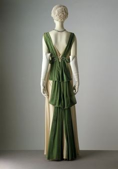 Evening Dress Paul Poiret for Liberty & Co., 1933 The Victoria & Albert Museum