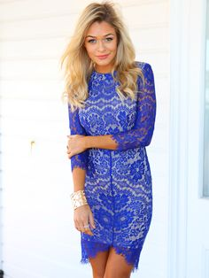 Elsa Dress (Blue)   New Arrivals   Women's Fashion and Clothing   Online Shopping - Mura Boutique