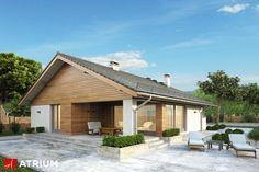 Projekt Pliszka III - elewacja domu