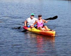 Love Kayaking with my hubby!!