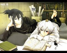 Nezumi & Shion, No.6 i finished this series about a couple months ago, and it's my fave anime!