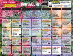 Protected: #NovemBURN Calendar!! Get your password in the newsletter!