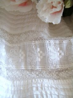 lovely design worked into this lace!!