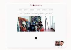 """Avo Art"""" es otro proyecto web montado en WordPress para el artista independiente Avo (Álvaro Hernández Santaeulalia)."""