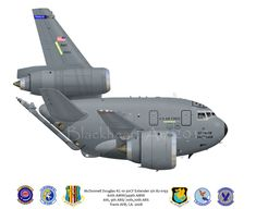 McDonnell Douglas KC-10 Extender | McDonnell Douglas KC-10-30CF, Extender s/n 82-0193. 60th AMW/349th AMW ...