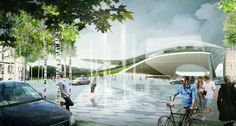 diller scofidio + renfro,  hargreaves associates and citymakers green moscow with zaryadye park