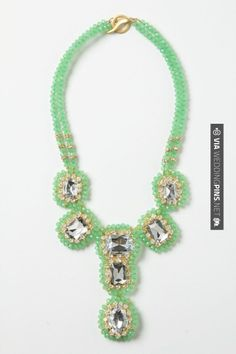 Brilliant - Everjade Necklace | CHECK OUT MORE GREAT GREEN WEDDING IDEAS AT WEDDINGPINS.NET | #weddings #greenwedding #green #thecolorgreen #events #forweddings #ilovegreen #emerald #spring #bright #pure #love #romance