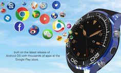 S1 PLUS 3G 1.3inch GPS Pedometer 1024MB 4G WIFI Camera Andriod 5.1 SIM Card Bluetooth #smartwatch Phone