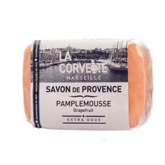 Jabón de la Provenza. Aroma Pomelo. Aceites vegetales. Sin parabenos. #cosméticanatural #jabonnatural #jabonprovenza #lacorvette