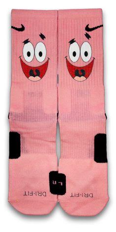 Patrick Custom Elite Socks by CustomizeEliteSocks on Etsy