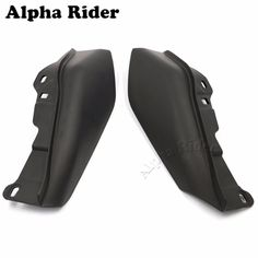 New Stylish Best Price ABS Mid-Frame Air Deflectors for Harley Touring Road King Tri Street Electra Glide Motorcycle Accessories