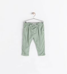 EMBROIDERED DRAWSTRING TROUSERS from Zara