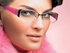 Pink Escada Eye Glasses http://www.wallpapersgalaxy.com/wp-content/uploads/2011/01/escada_glass.jpg  #pink #glasses #eye #escada