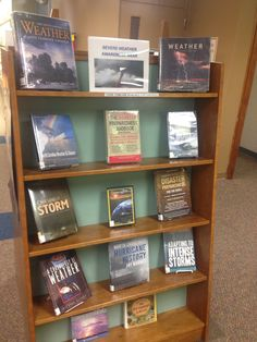Severe Weather Awareness Week (March) library display