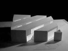 ORDOS 100 #21: PRODUCTORA, modulo, architectural model