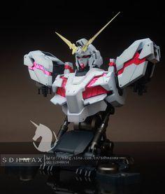 GUNDAM GUY: 1/48 Unicorn Gundam [Destroy Mode] Bust - Custom Build