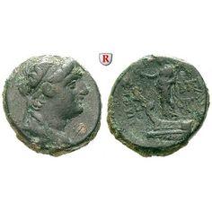 Syrien, Königreich der Seleukiden, Demetrios II., 2. Regierung, Bronze 129-125 v.Chr., f.ss: Demetrios II., 2. Regierung 129-125… #coins