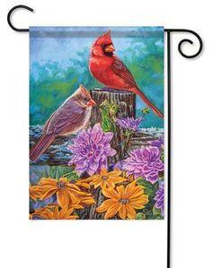 "Cardinal Life Garden Flag - 13"" x 18"""