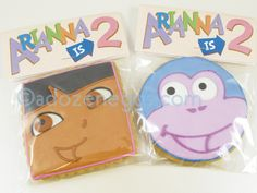 Dora and Boots favors