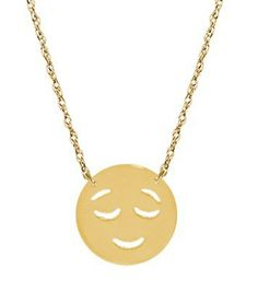 Jane Basch's Emoji Jewelry Is Guaranteed To Make You Smile ~ Of course there is Emoji jewelry now...