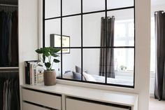 walk-in-closet - Christina Dueholm Walking Closet, Bathroom Design Small, Office Interior Design, Apartment Interior, Home Bedroom, Interior Inspiration, Style Inspiration, Home And Living, Home Remodeling
