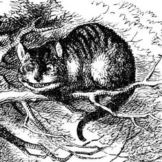 Cheshire Cat by Edward Gorey