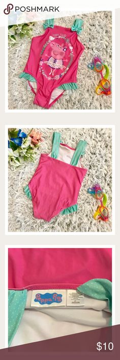 0a376a7add Peppa Pig Swim Suit Peppa Pig Swim Suit! Size 3t and in Excellent Condition!