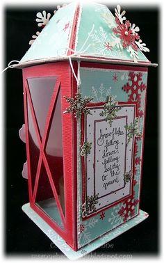 Stempeleinmaleins: lanterns gift / gift box latern