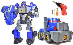 CoolToys 3in1 TakeAPart Robot Toy  Includes Electric Drill Screwdriver and Tools 42 Pieces >>> More info could be found at the image url.