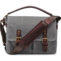 ONA Prince Street Camera Messenger Bag | Smoke