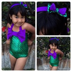 Find More Swimwear Information about 2016 Summer Kids Girls Mermaid Swimwear One piece Sequins Beach Princess Bow Swim Wears with a Headband,High Quality wear blouse,China bow stabilizer Suppliers, Cheap bow silver from Everweekend Kids Clothing Co.,Ltd on Aliexpress.com