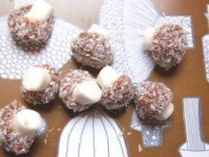 Coconut Mushrooms - Retro Sweets